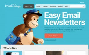 MailChimp, logiciel de newsletter