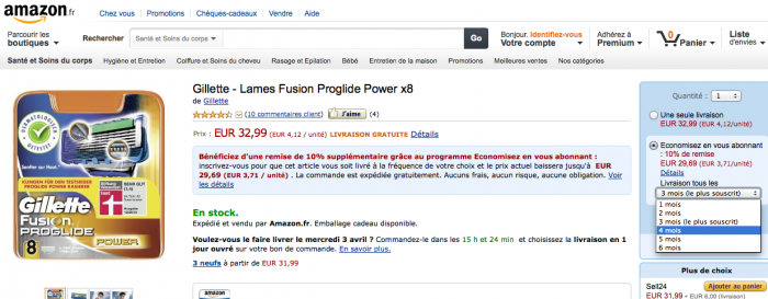 amazon-abonnement